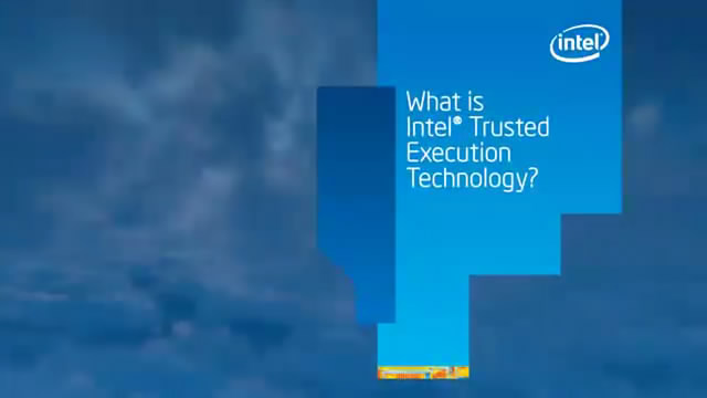 What is Intel® TXT, Intel® Trusted Execution Technology?