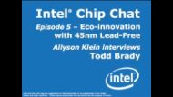 Intel's Lead-free Initiative