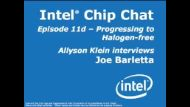 Intel's Progress to Halogen-Free