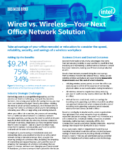 Wired vs. Wireless Office Network Solutions