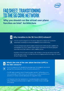 5G Core Networks for CoSPs