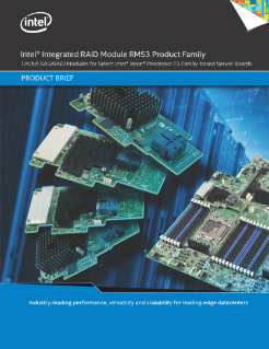 Intel® Integrated RAID Module RMS3 Family Product Brief