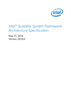 Intel® Scalable System Architecture Specification