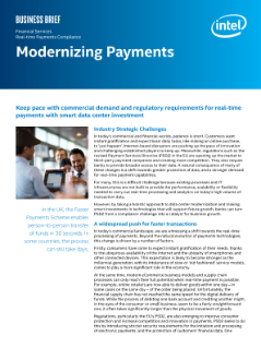 Intel Provides Real-time Payment Innovation for Banking Industry
