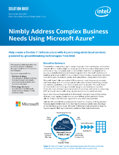 Nimbly Address Business Needs with Azure