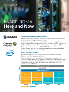 iWARP* RDMA Here and Now Technology Brief