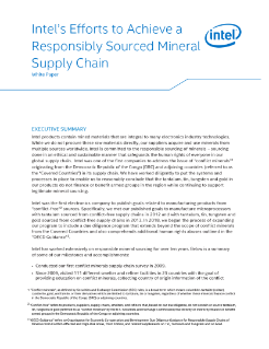 Quest for a Responsible Mineral Supply Chain